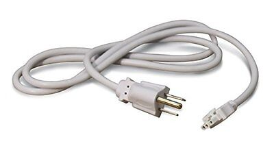 "(NEW) Cooper HU105P Halo 48"" Power Cord, White, for HU10 undercabinet light LED"