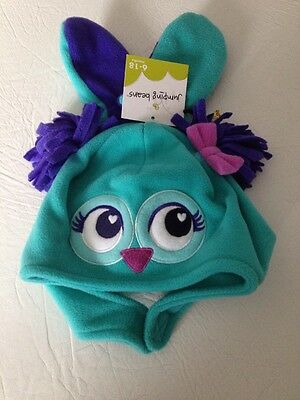 Nwt-Girls Hat & Mittens-Size 6-18 Months-Brand Jumping Beans
