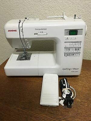Janome Quilting / Decor 4030 QDC W/ Foot Pedal Computerized