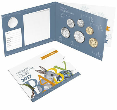 2017 Royal Australian Mint Six Coin Uncirculated Baby Set