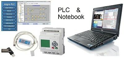 FREE Notebook  w PLC Controller Programming Software Automation Laptop Training