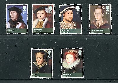 Great Britain 2653-58, 2009 Royalty,  Mnh (Id5918)