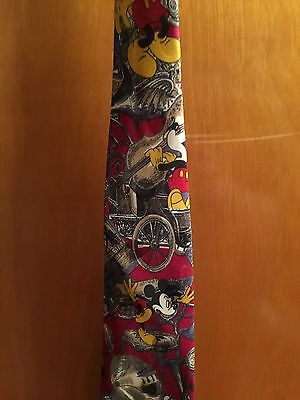 Mens Mickey Unlimited by Balancine Inc Tie Red w/Mickey Mouse