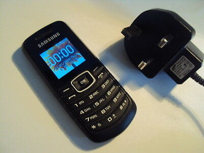 Samsung Gt-E1080I  Elderly Disable Simple  Mobile Phone On Tesco/o2 +Charger