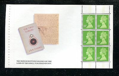 GREAT BRITAIN MH105a, 1992 18p LORD OF THE RINGS, BPOF6,  MNH (ID5912)