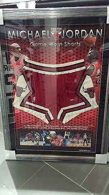 Michael Jordan Hand Signed And Worn Shorts Las Vegas Mvp Air Jordan Dunk