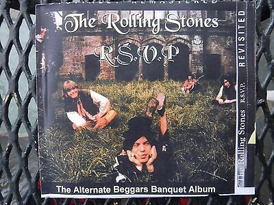 Rolling Stones-Alternate Beggars Banquet Album- Professionally Sourced Cdr