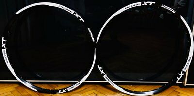 Replacement wheel stickers Decals for SHIMANO XT M785 mountain bike bicycle rim