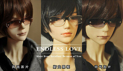 Handsome Semi-rimmed Glasses For 1/4 1/3 SD17,Uncle BJD Doll Accessoriesb GS7
