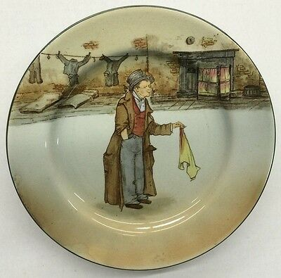 "Royal Doulton Dickens Ware Collector Plate ""The Artful Dodger"""