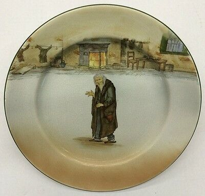 "Royal Doulton Dickens Ware Collector Plate ""Fagin"" D3020"