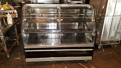 Columbus Dry Bakery Display Case Cabinet Showcase Bread Lighted Pastry Cupcake