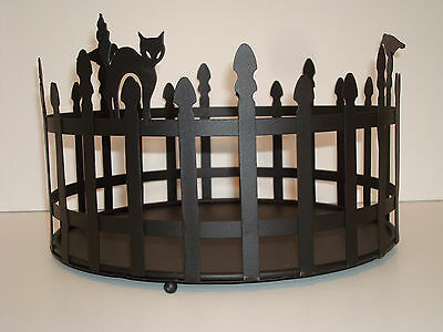 Longaberger Wrought Iron Trick Or Treat Halloween Holder ~ New In Box