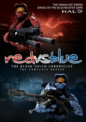 Red vs. Blue: The Blood Gulch Chronicles: The First  (2010, DVD NIEUW)6 DISC SET
