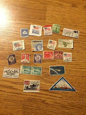 Set of Various US United States Stamps - All stamps in pictures 1, 2, & 3
