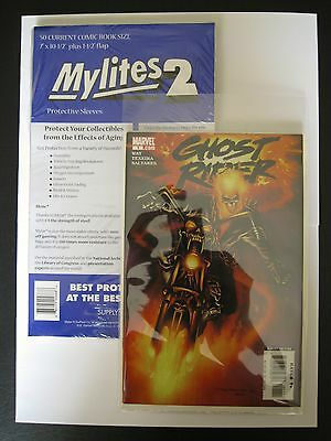 MYLITES2 x 50.CURRENT COMIC BOOK SIZE 7'' x 10.5''.MYLAR COMIC BAGS/SLEEVES.