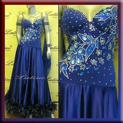 Ballroom Dance / Smooth / Standard Competition Dress - Size S, M, L (St106C)