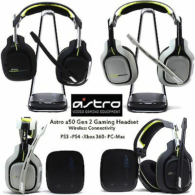 ASTRO Gaming A50 Gen 2 for PS4 PS3 XBOX 360 PC Mac Wireless Gaming Headset