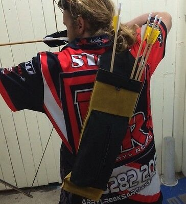 AMS Back Quivers, AMS Light Back Quiver, Traditional Quiver, Archery, Hunting