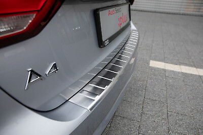 Stainless Steel Boot Edge Protector compatible with Audi A4 B9 Avant bj.2015