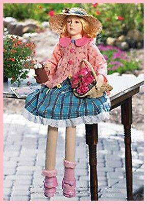 MY LITTLE HAILY GARDEH DOLL Display your love for dolls outdoors NEW 34 IN TALL