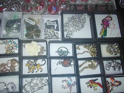 bulk lot of 20 assorted jewelry gift boxed