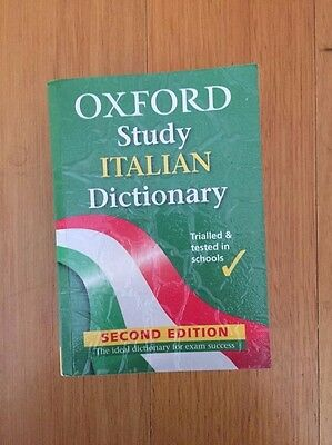 oxford study italian dictionary second edition