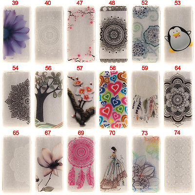 Sunflower Mandala Soft TPU Phone Case Cover For Lenovo A6000 A6020 A7020 Vibe P1