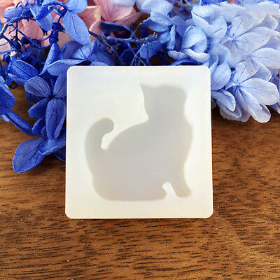 Cat silicone pendant mold making jewelry pendant resin casting diy cat shape silicone pendant mold making jewelry pendant resin casting diy mould aloadofball Images