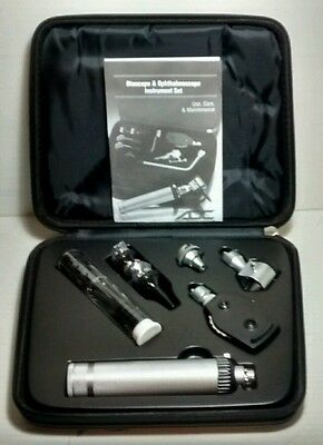 Adc Proscope Diagnostic Set #5210 Otoscope Ophthalmoscope In Case New