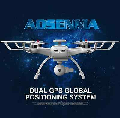AOSENMA CG035 RTF RC Quadcopter Drone (FOLLOW ME) & FPV 1080P HD Gimbal 5MP Cam
