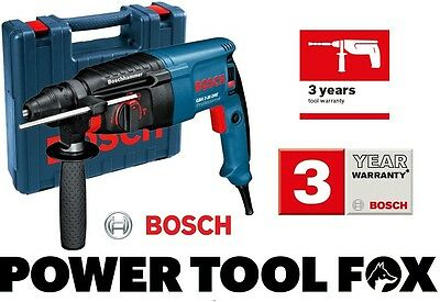 15 ONLY Bosch GBH 2-26 DRE Pro Rotary Hammer 240V Cord 0611253742 3165140344135