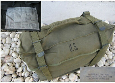 US Army Kampftasche M1945 Original Combat Pack Korea Willys Jeep Cargo Bag