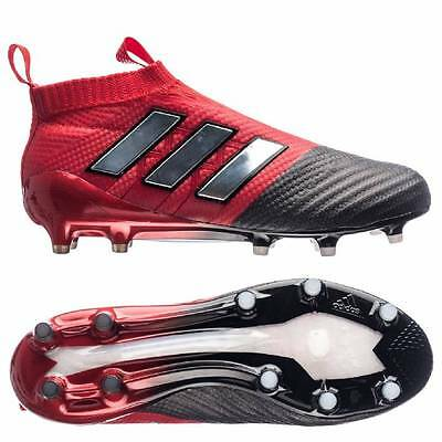 adidas Ace 17+ PureControl Firm Ground Football Boots - Red/White/Core Black