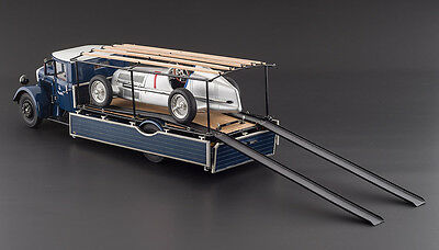 CMC 1/18 Mercedes LO 2750 Racing Transporter + Mercedes W25 Test Car ITEM: M-164