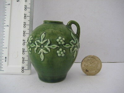 Superb Antique  Rye Pottery Miniature Ewer Jug Pitcher Unusual Fully Marked