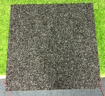 Heavy contract new carpet tiles . office floor carpet boxed