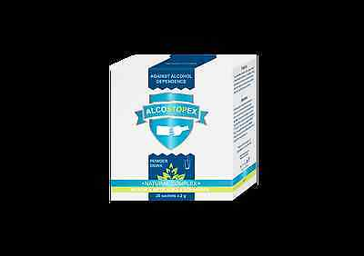 Alcostopex Relieves Alcohol Cravings Removes Toxins Regenerates Cells 20 Sachets