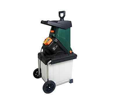 NEW Garden Shredder 40mm Cutting Electric Tree Wood Shredders Home Gardening