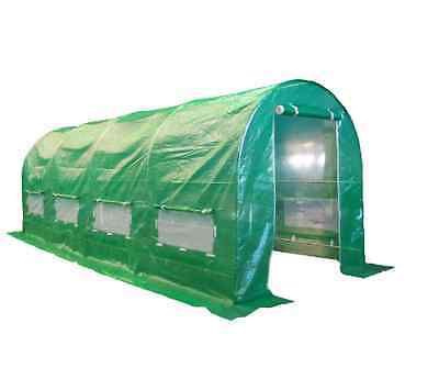 Polytunnel Greenhouse Garden Polly Tunnel Galvanised Steel Frame Vegetables Hous