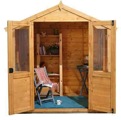 Barleywood Wooden Garden Summer House 7 x 5 Wendy Houses Outdoor Play Houses NEW