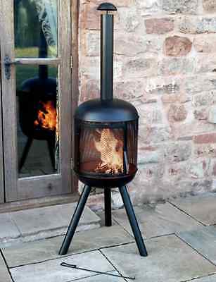 New Garden Chimenea Outdoor Heater Fire Pits Chimneys Grills Patio Heaters Heat