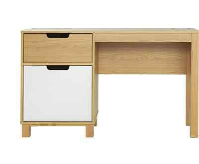Single Pedestal Office Desk New Study Table With Storage Computer Table Laptop