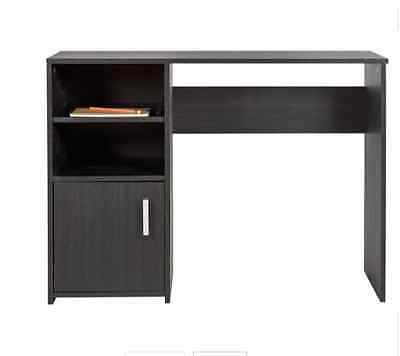 Home Study Table With Easy Cable Access Wood Effect Office Table With Storage