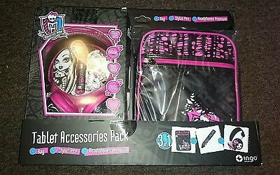 Monster High Accessory Pack for Tablet NEW