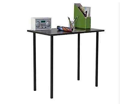 Home Laptop Table With Easy Cable Access New Wood Effect Office Computer Desk