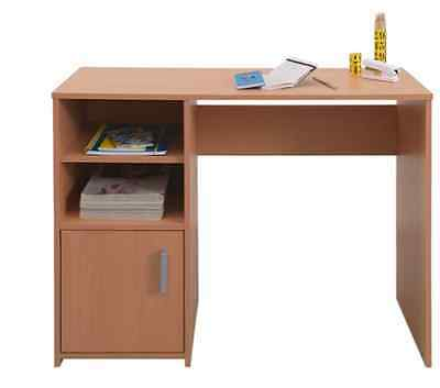 Lawson Wood Effect Bedroom Desk With Organizer Home Study Table With Shelves