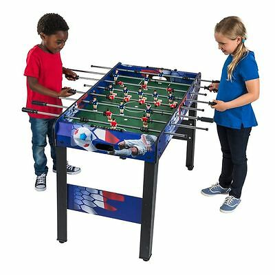 NEW 4ft Football Table Game Kids Table Football Garage Games Toys Foosball Gifts