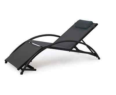 NEW Jarder Adjustable Sun Lounger Garden Patio Pool Furniture Seats Deck Chairs