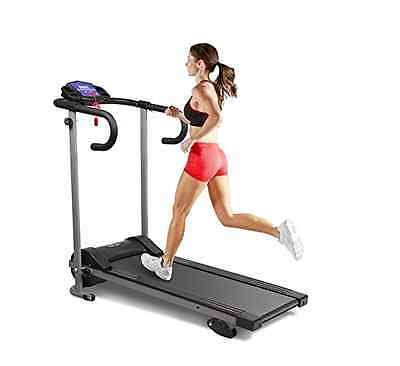 Electric Treadmill Running Machine Portable Home Gym Equipment Fitness Machine
